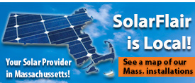 map of solar installations in mass