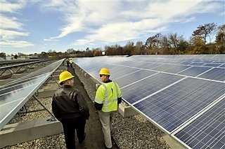 commercial solar installation in massachusetts